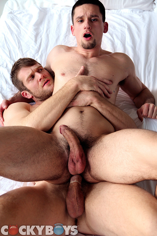Colby Keller and Anthony Romero
